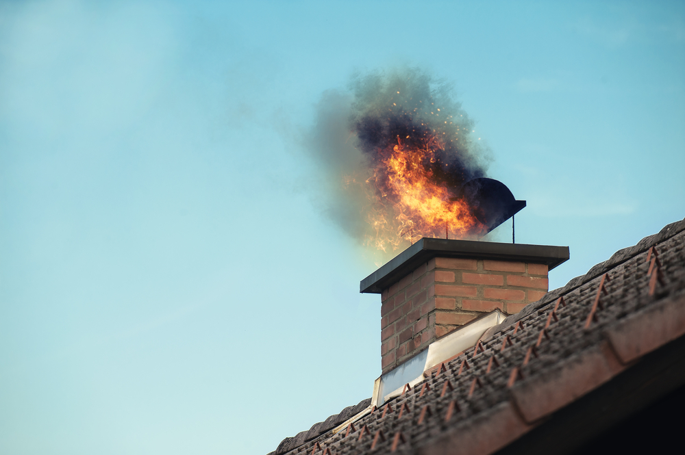 Prevent chimney fire with a good chimney clean out