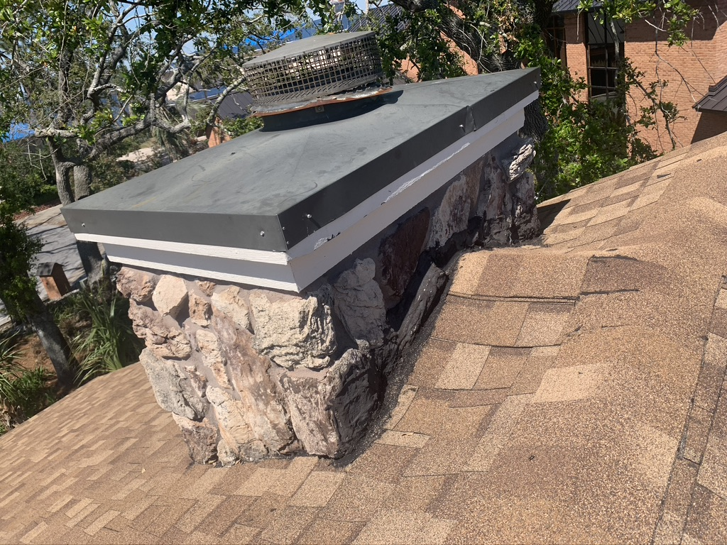 chimney case, crown, and flue Baton Rouge