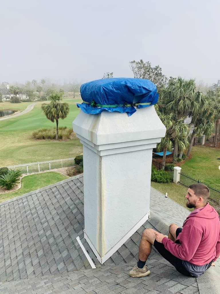 chimney cap installation St. Augustine