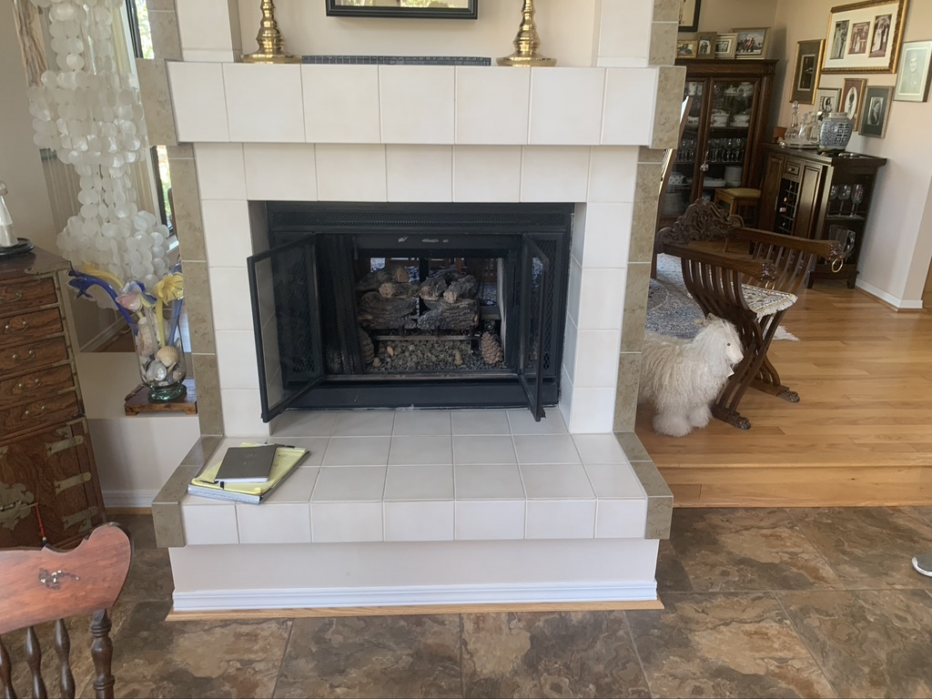chimney firebox and hearth repair Columbus