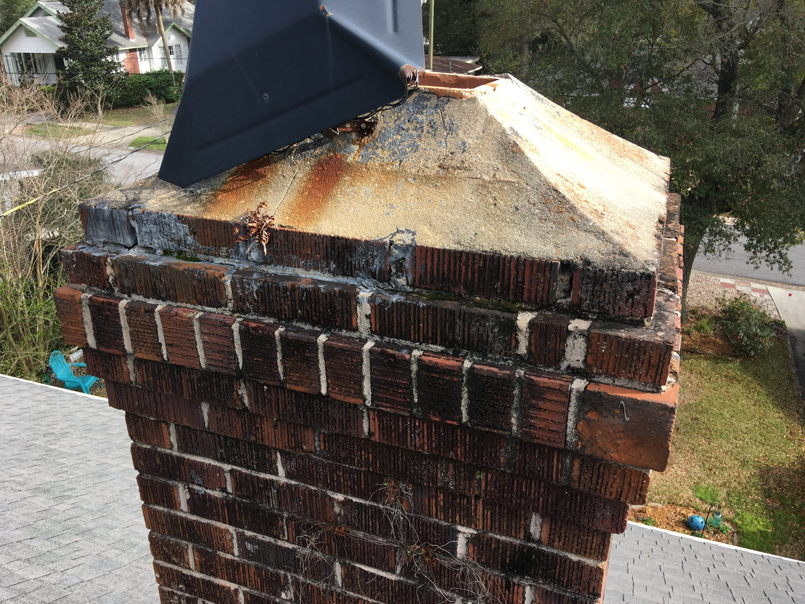 Cracks in the Chimney Crown?