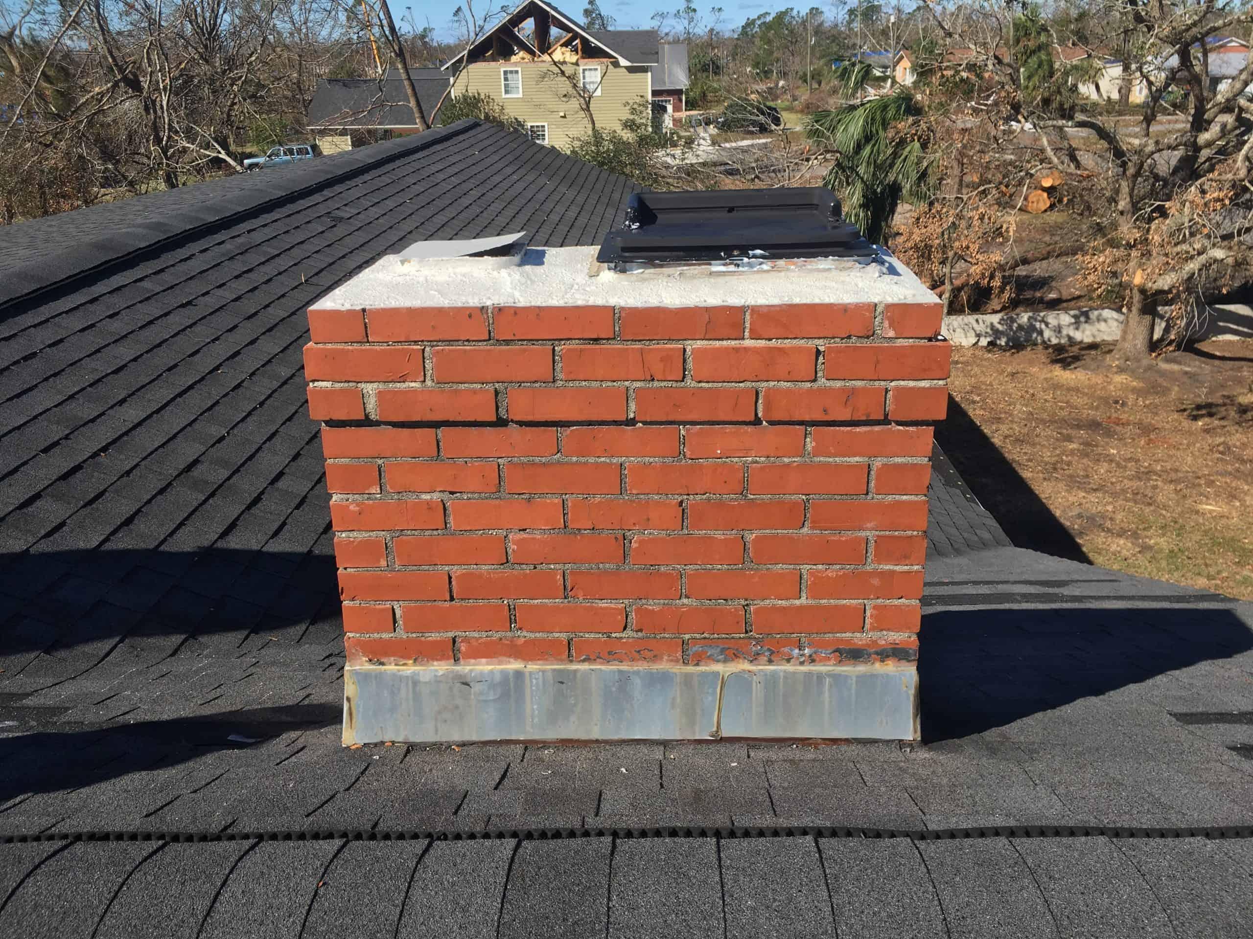 red brick chimney Warner Robins