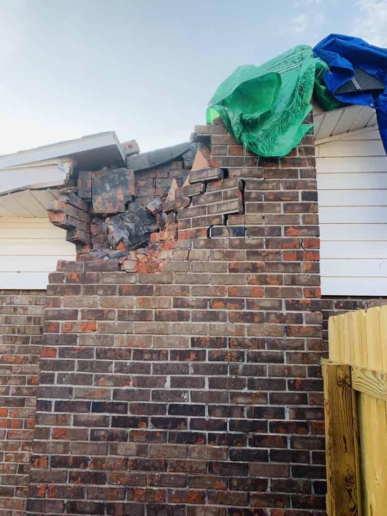 storm damage Biloxi