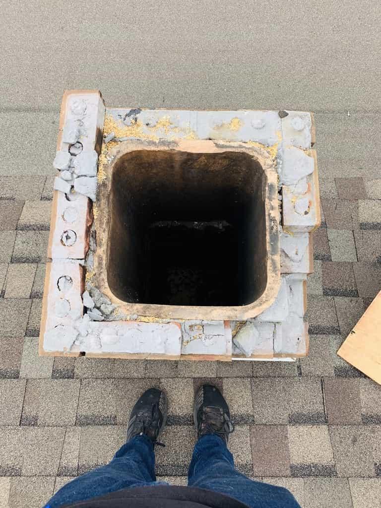 Sulphur Allstar team rebuilds destroyed chimney