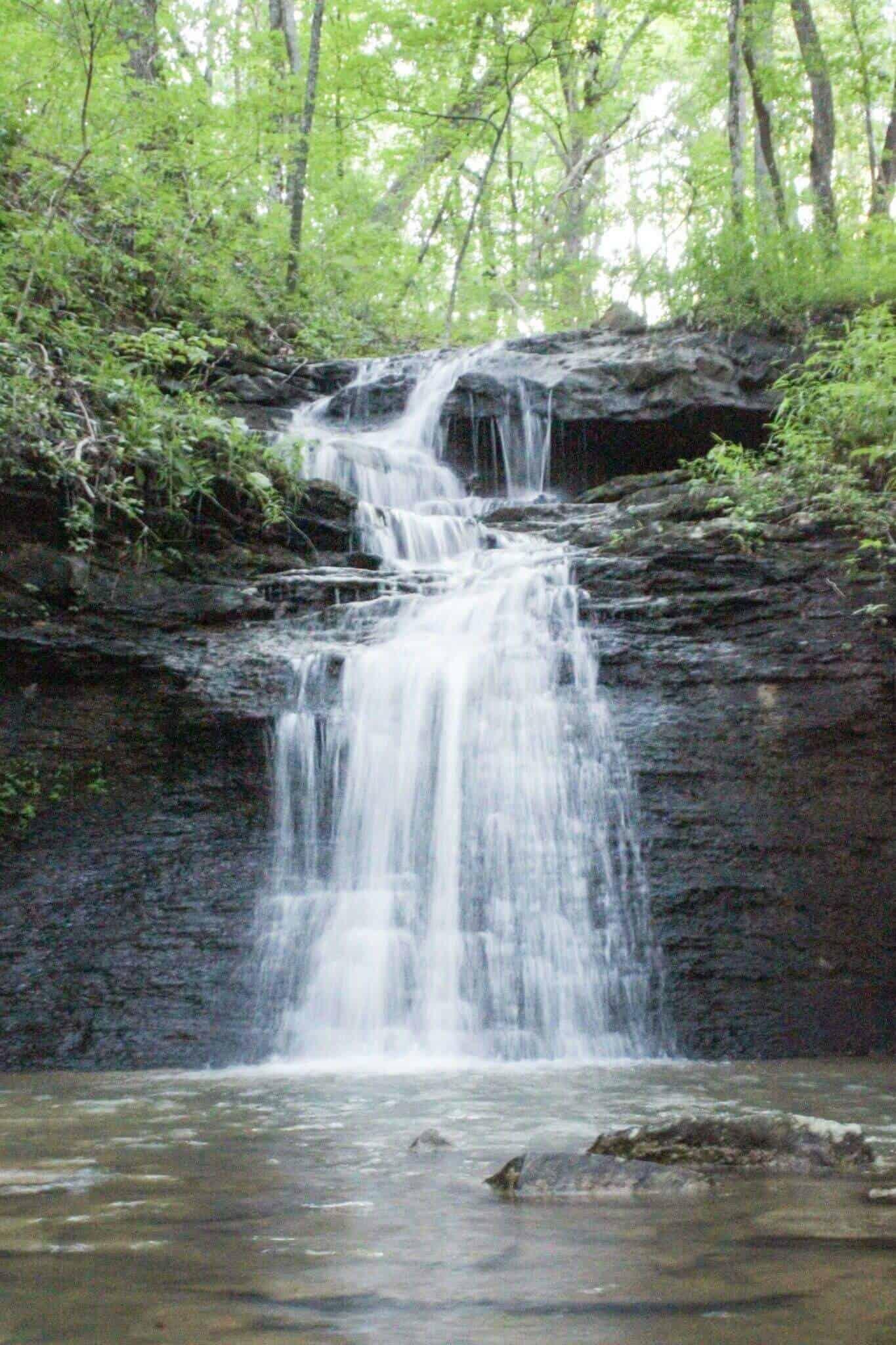 Water fall in Huntsville